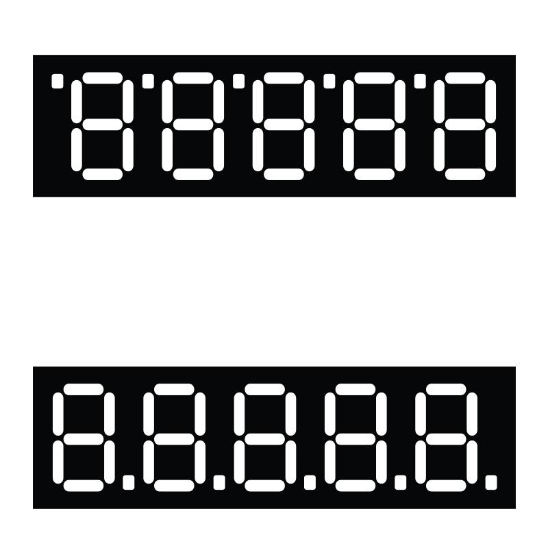 Cenu zīmes TECHNOINFORM 80x85 mm, lielas, 100 gab.