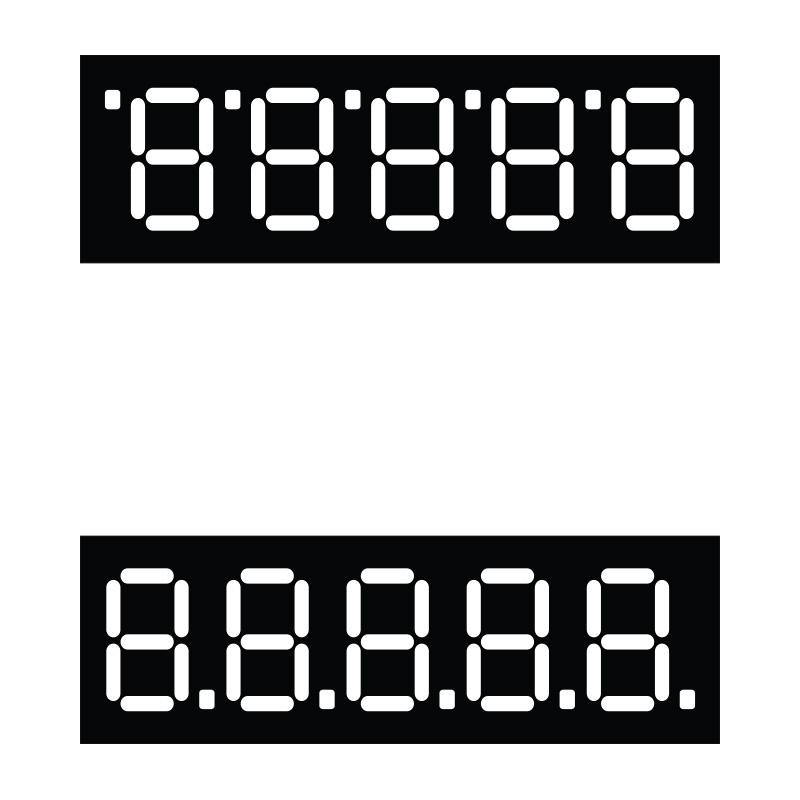 Cenu zīmes TECHNOINFORM 70x65 mm, vidējās, 100 gab.
