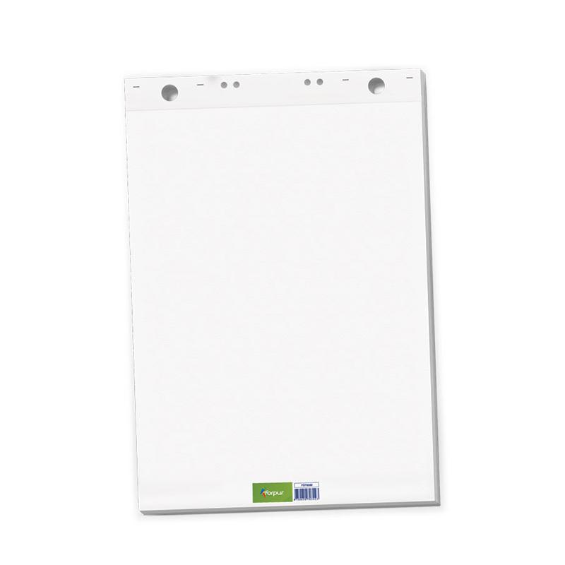 Papīra bloks FORPUS Flipchart, 65 x 100 cm, 50 lapas/blokā,  baltas