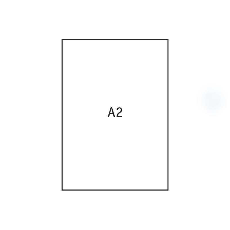 Papīrs rasēšanai Kreska ar izmēru 610x430 mm, 170 g/m2, 20 gab./iepak.