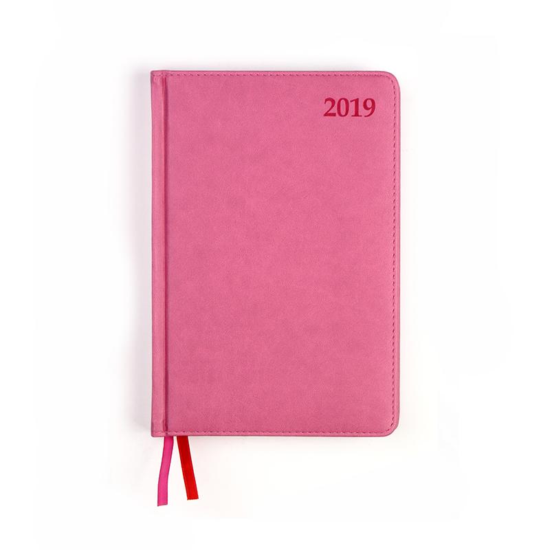 Dienasgrāmata MANAGER EXTRA 2019, PU Soft, A5, vio..