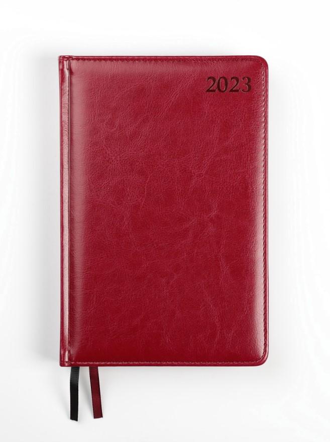 Dienasgrāmata MANAGER PREMIER 2020, PU, A5, bordo ..