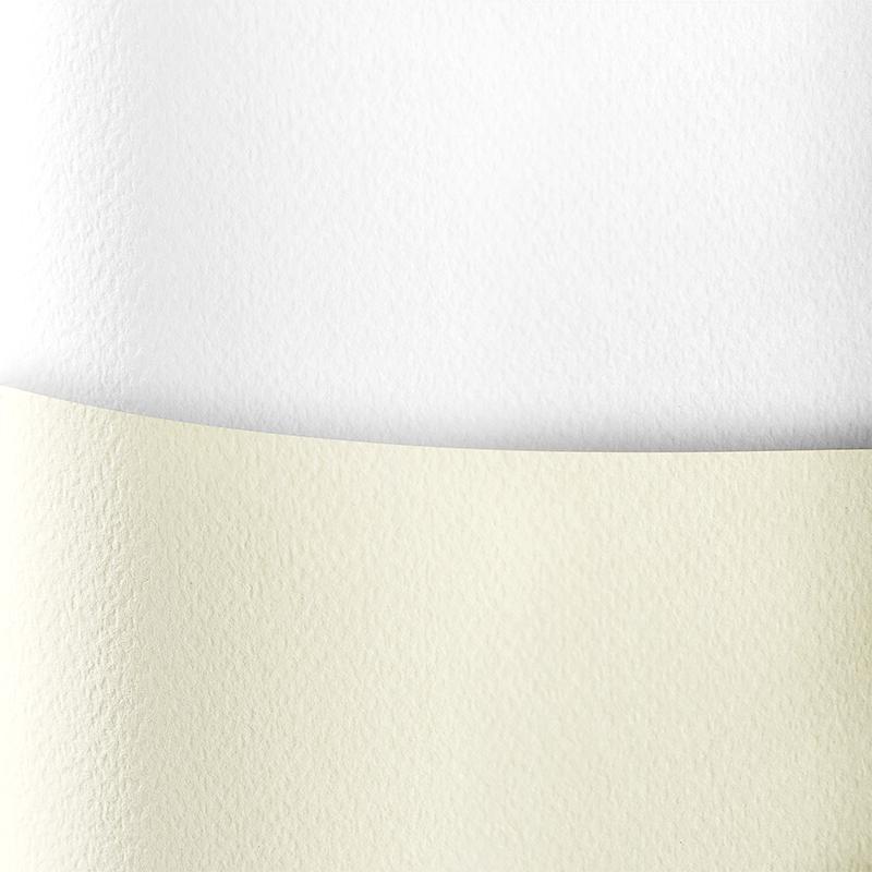 Dekoratīvais kartons SAVANNAH baltā krāsā, A4, 20 loksnes, 200 g/m²