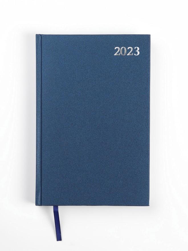 Dienasgrāmata STANDARD 2020, PVC, A5, zila krāsa (..