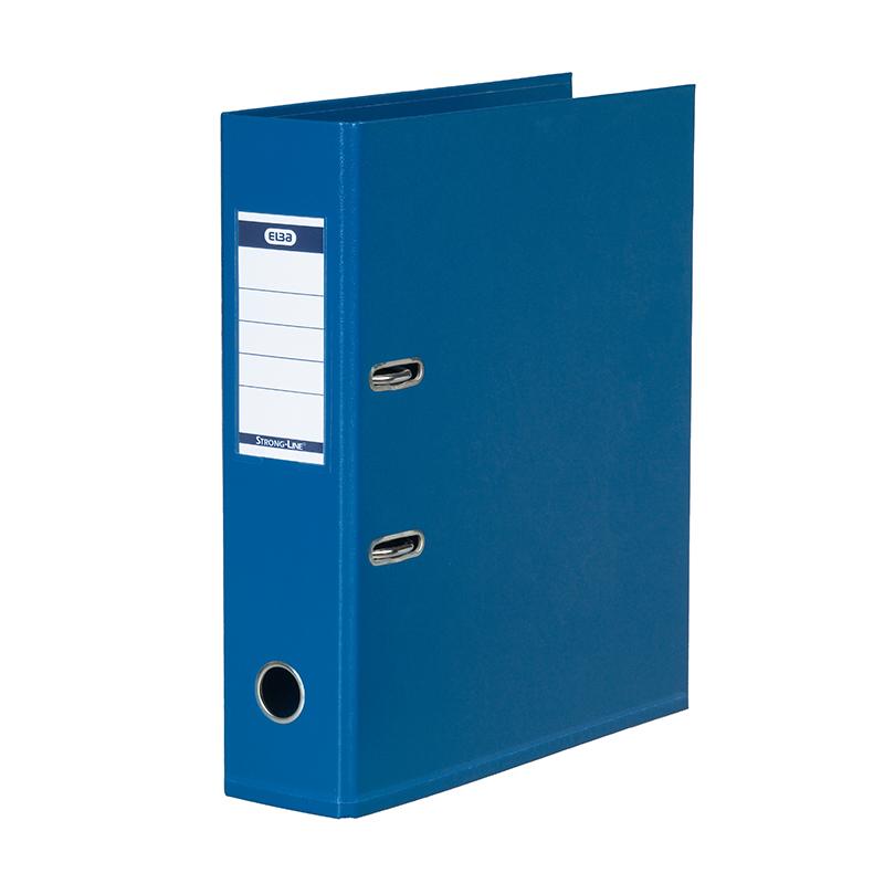 Mape-reģistrs ELBA Strong-Line, A4 formāts, 80mm, tumši zila