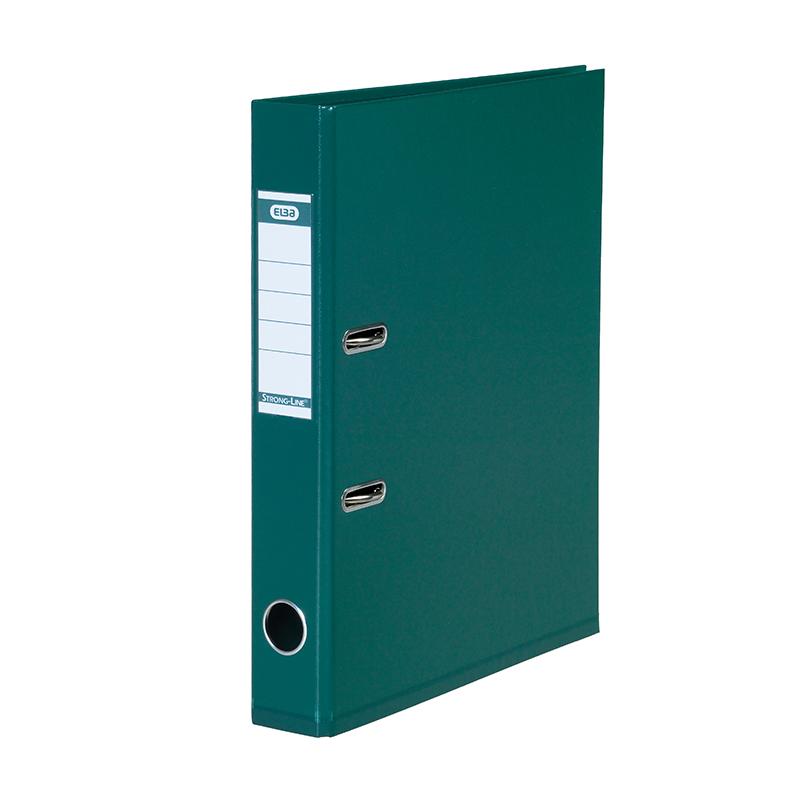 Mape-reģistrs ELBA Strong-Line, A4 formāts, 50mm, zaļa