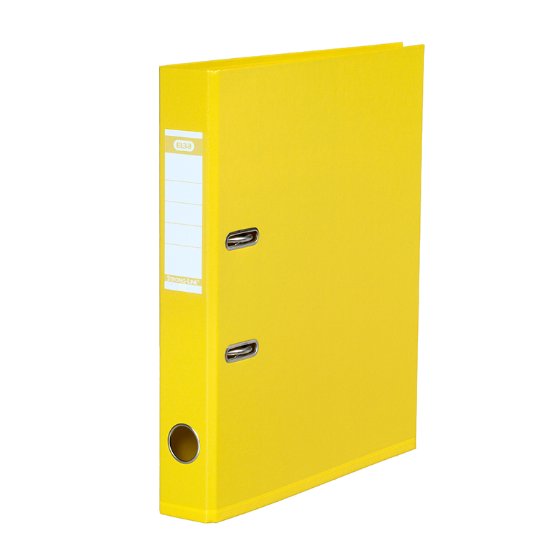 Mape-reģistrs ELBA Strong-Line, A4 formāts, 50mm, dzeltena