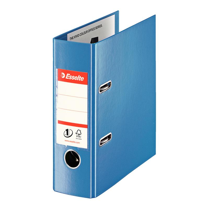 Mape-reģistrs ESSELTE VIVIDA No1 Power PP, A5 formāts, 75mm, zila