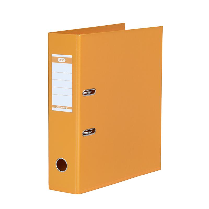Mape-reģistrs ELBA Strong-Line, A4 formāts, 80mm, oranža