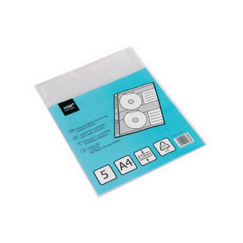 CD/DVD vāciņi HSK A4 formāts 2 diskiem