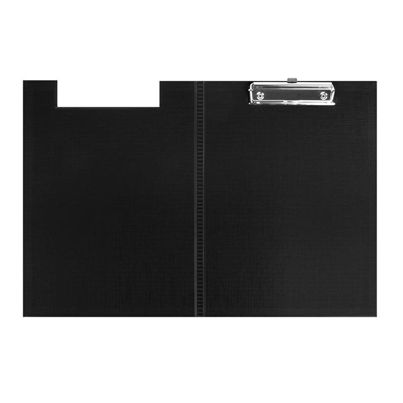 Mape-planšete FORPUS ar vāku A4 formāts, melna