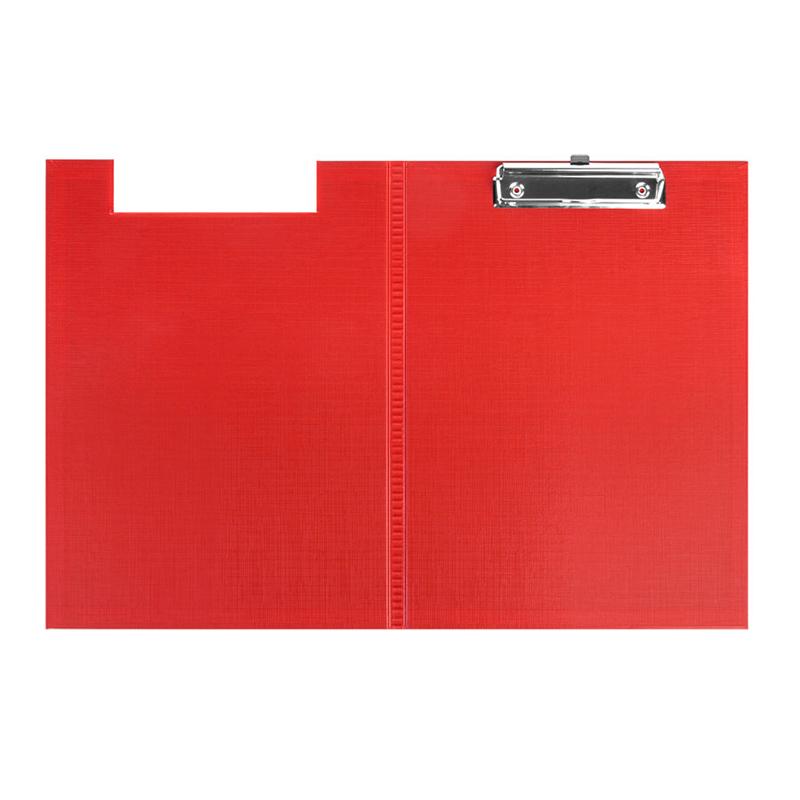 Mape-planšete FORPUS ar vāku A4 formāts, sarkana