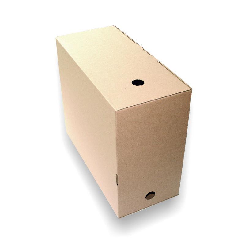 Arhīva kārba SMLT 300 x 160 x 350  mm, brūna, mikro gofrētais kartons