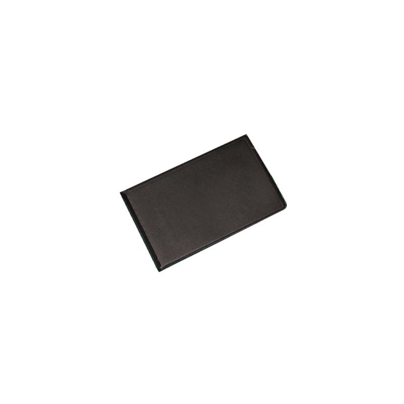 Vizītkaršu bloknots Pantaplast, 24 vizīkartēm, melns 11.5 cm x 7.3 cm