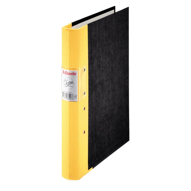 Mape-reģistrs Esselte JOPA A4 formāts, 40mm, dzelt..