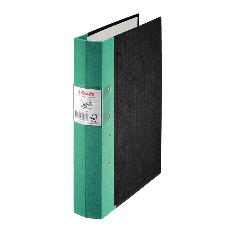 Mape-reģistrs Esselte JOPA A4 formāts, 60mm, zaļa..