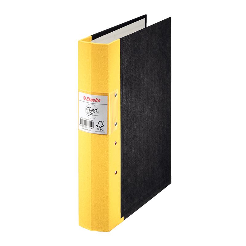 Mape-reģistrs Esselte JOPA A4 formāts, 60mm, dzelt..