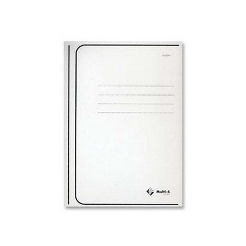 Mape dokumentiem (vāki) Multi-S kartona, A4, balta (15mm)