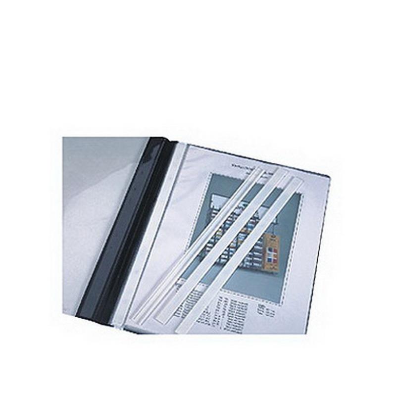 Aizsargs ātršuvēja mapei DURABLE, 50gab/iep, baltā krāsā