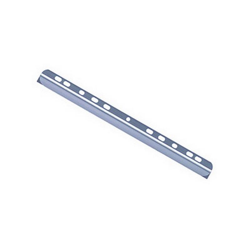 Saspiedējs dokumentiem DURABLE perforēts, A4/3 mm, caursp, 8gab/iep.