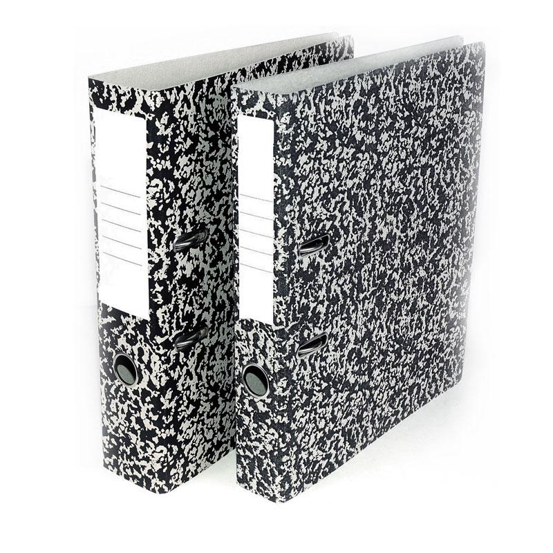 Mape-reģistrs A4 formāts, 75mm, raibs raksts