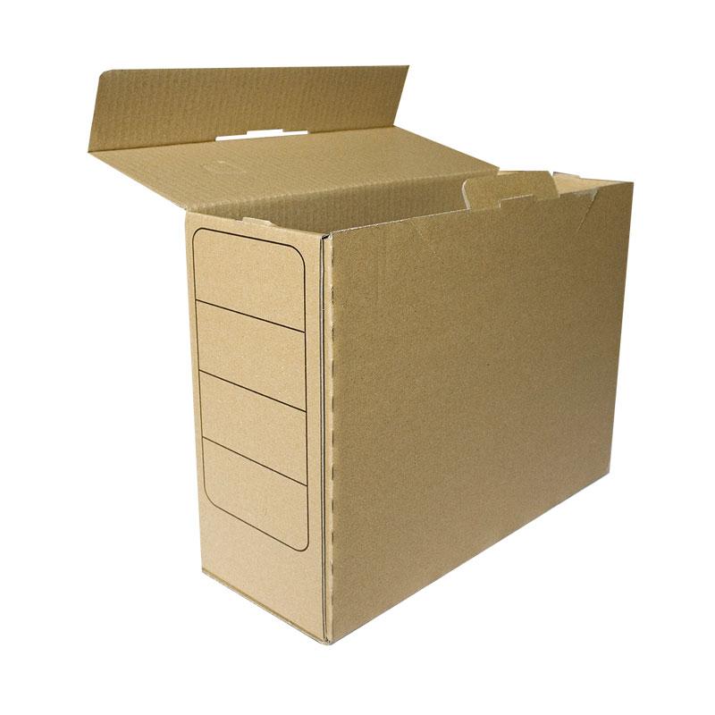 Arhīva kārba SMLT no kartona, 243 x 120 x 320 mm