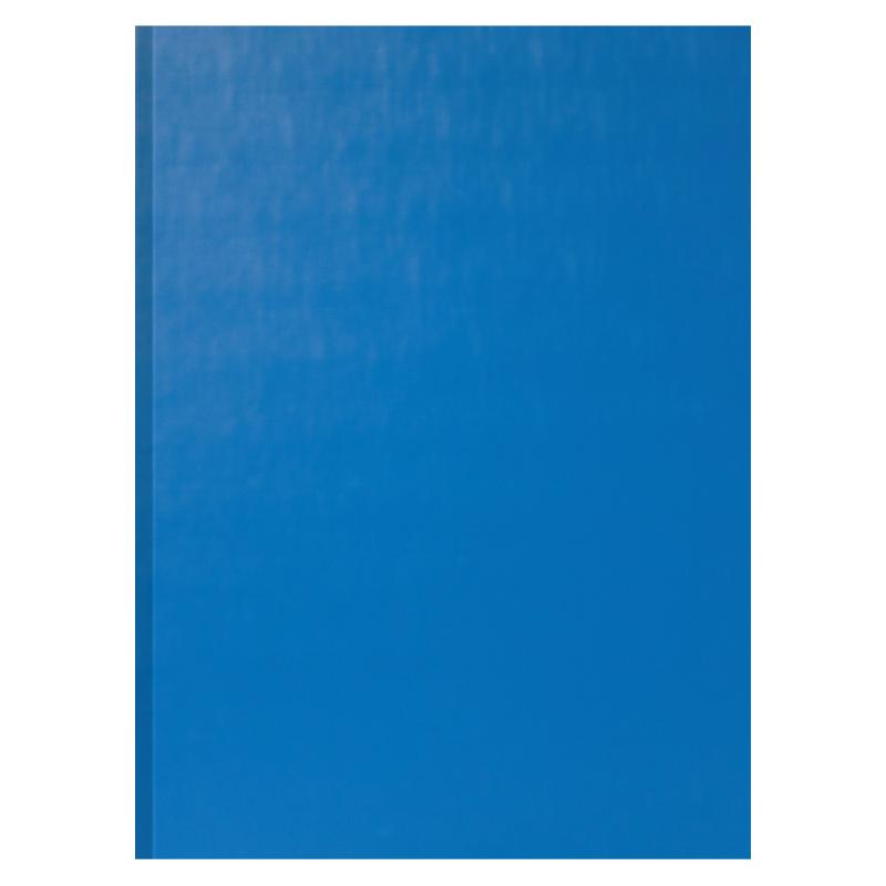 Mape prezentācijām, apsveikumiem Smiltainis A4, zilas ādas imitācija