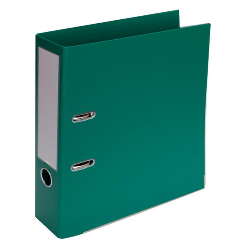 Mape-reģistrs A4 formāts, 70mm, zaļa, apakšējā mal..