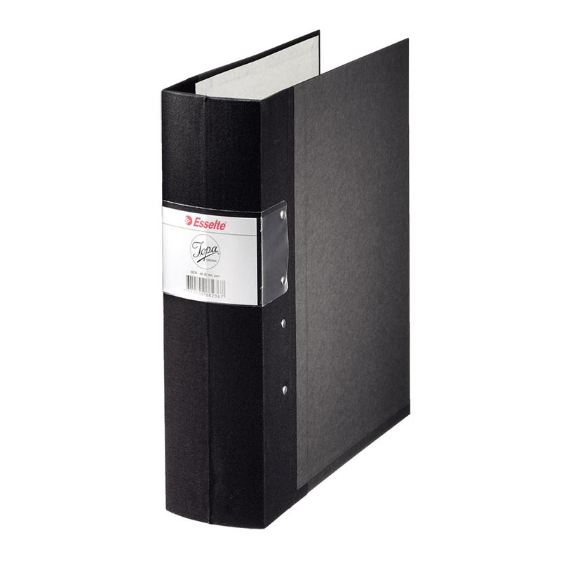 Mape-reģistrs Esselte JOPA A4 formāts, 80mm, melna..