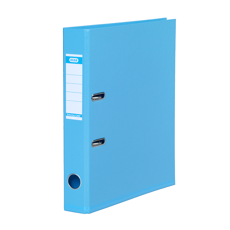 Mape-reģistrs ELBA Strong-Line, A4 formāts, 50mm, gaiši zila