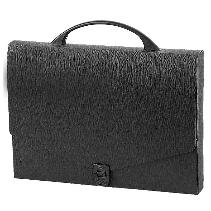 Mape portfelis PANTA PLAST , 40 mm, melnā krāsā