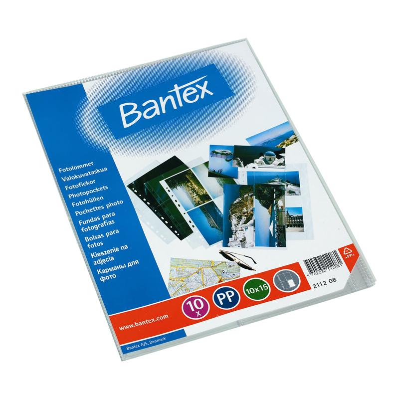 Kabatas fotogrāfijām Bantex 10 x 15 cm