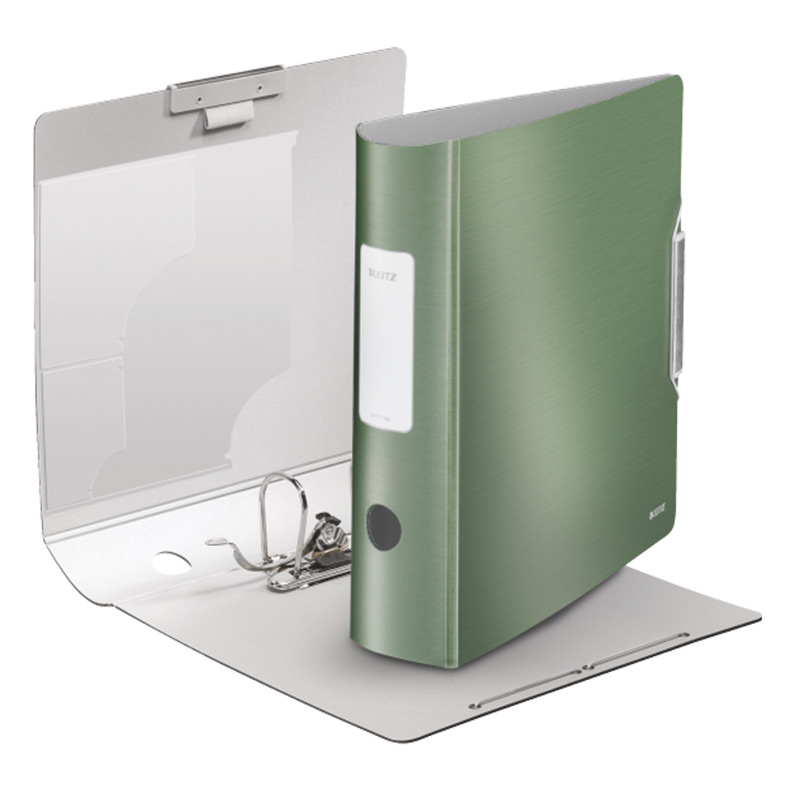 Mape-reģistrs LEITZ 180° STYLE, A4 formāts, 75mm, celadon green