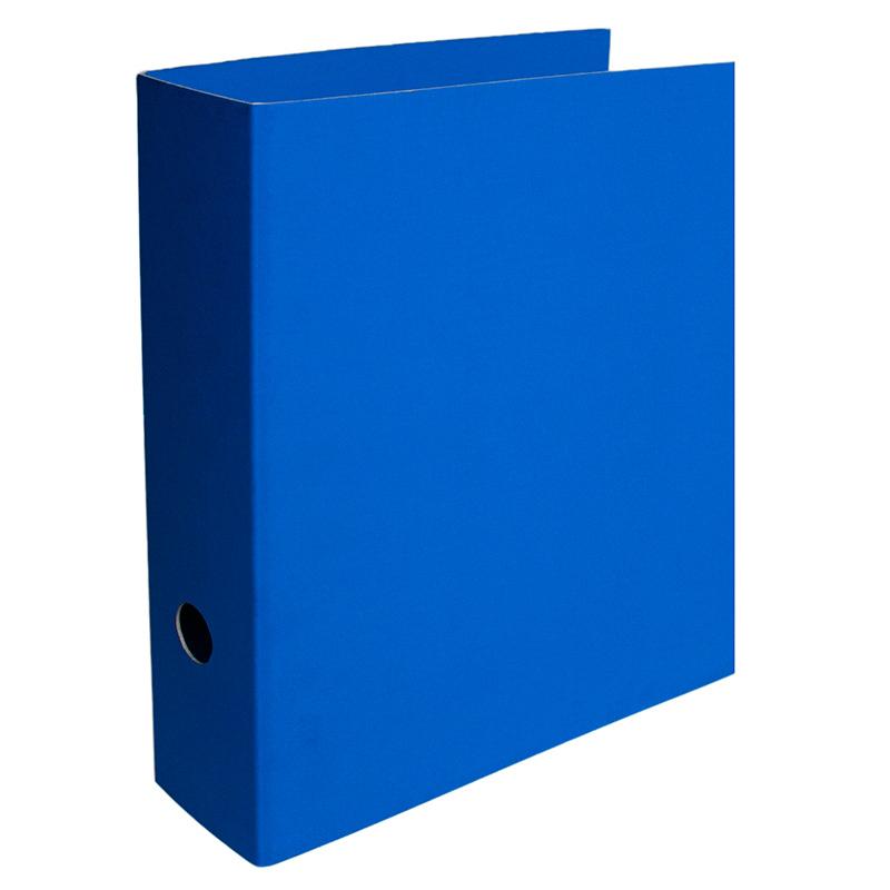 Mape-reģistrs SMLT A4 formāts, 80mm, kartona, zilā..