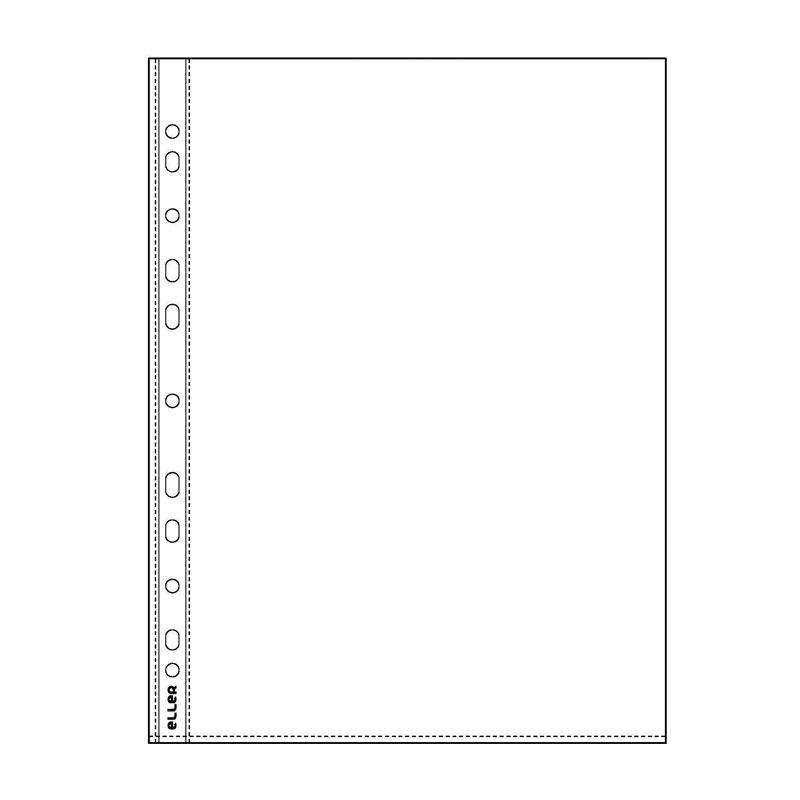 Kabata dokumentiem ECO A4, PP, glancēta, 20 mkr
