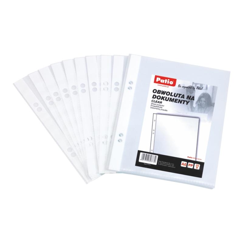 Kabata dokumentiem, A6,caurspīdīgas, 30 mkr