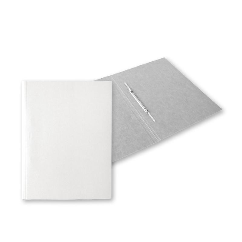 Dokumentu mape A4, kartona, 300 g/m2, baltā krāsā