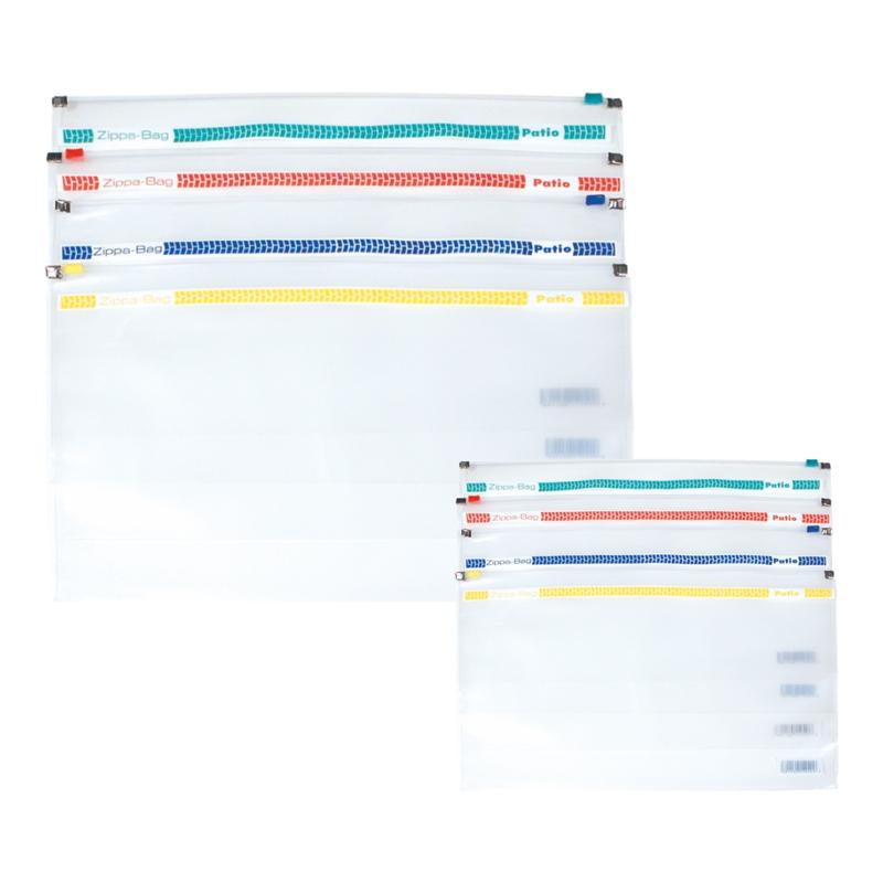Dokumentu mape ar rāvējslēdzēju, A4, sarkanā krāsā