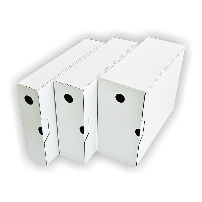 Arhīva kārba SMILTAINIS A4, 8 cm, balta
