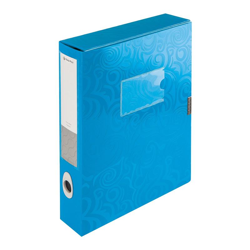 Mape ar līplentes aizdari TAICHI, A4, 55 mm, zilā krāsā