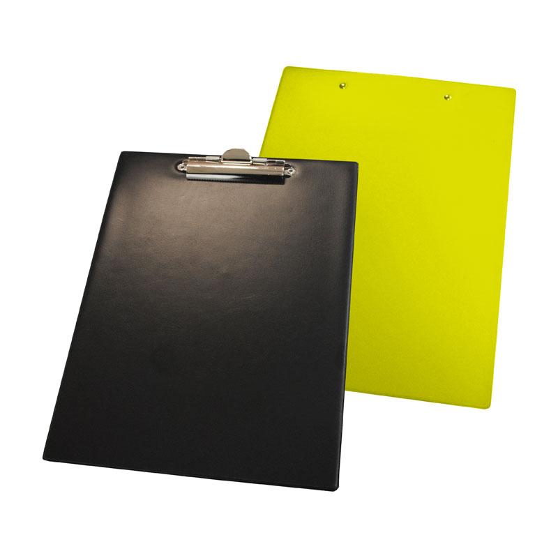 Planšete  Panta Plast, A4 formāts, melna-dzeltena