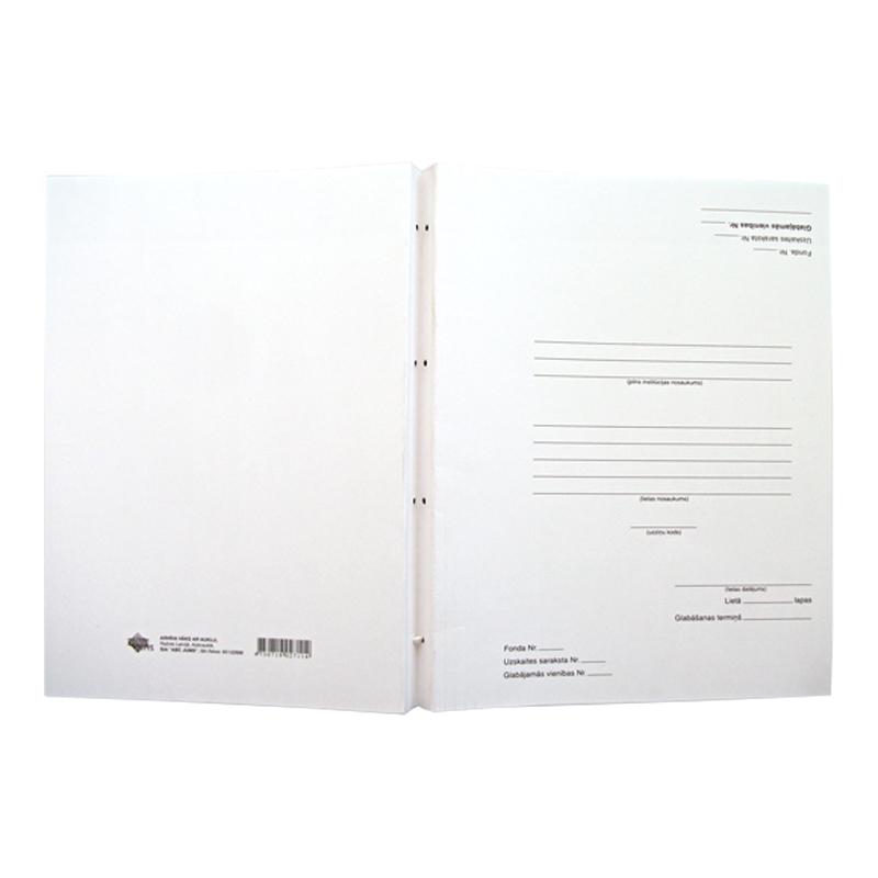 Arhīva mape ABC JUMS ar auklu dokumentu iesiešanai, 31 x 23 cm