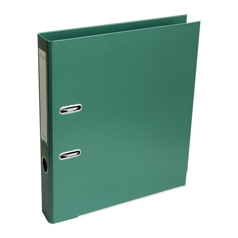 Mape-reģistrs ELLER A4 formāts, 50mm, zaļa, apakšē..
