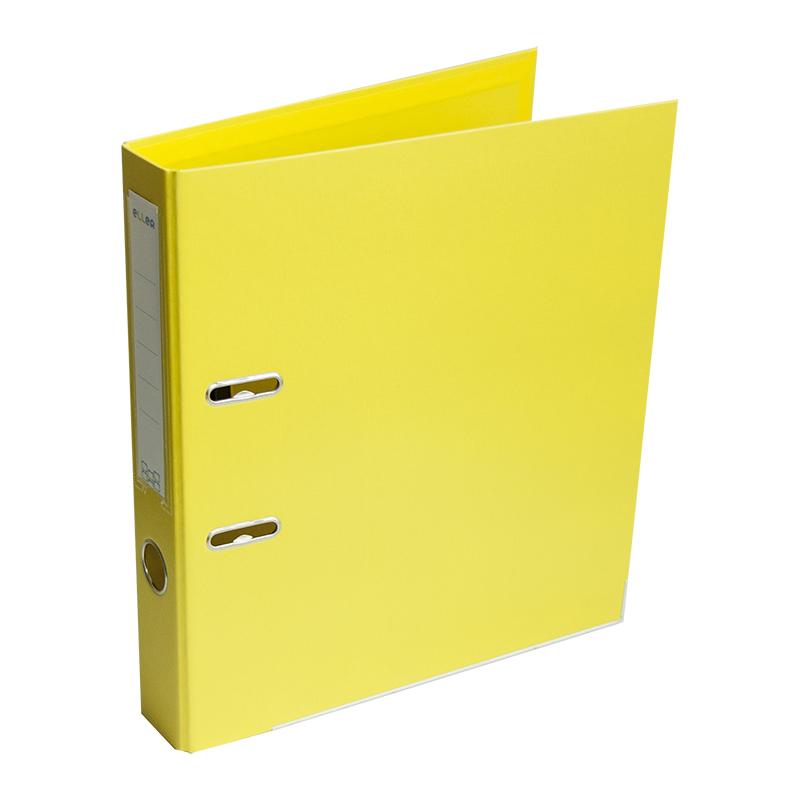 Mape-reģistrs ELLER A4 formāts, 50mm, dzeltena, ap..