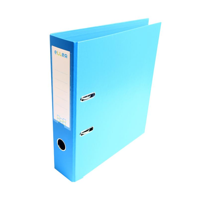 Mape-reģistrs ELLER A4 formāts, 50mm, gaiši zila, ..