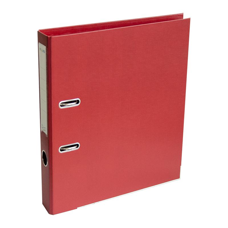 Mape-reģistrs ELLER A4 formāts, 50mm, sarkana, apa..