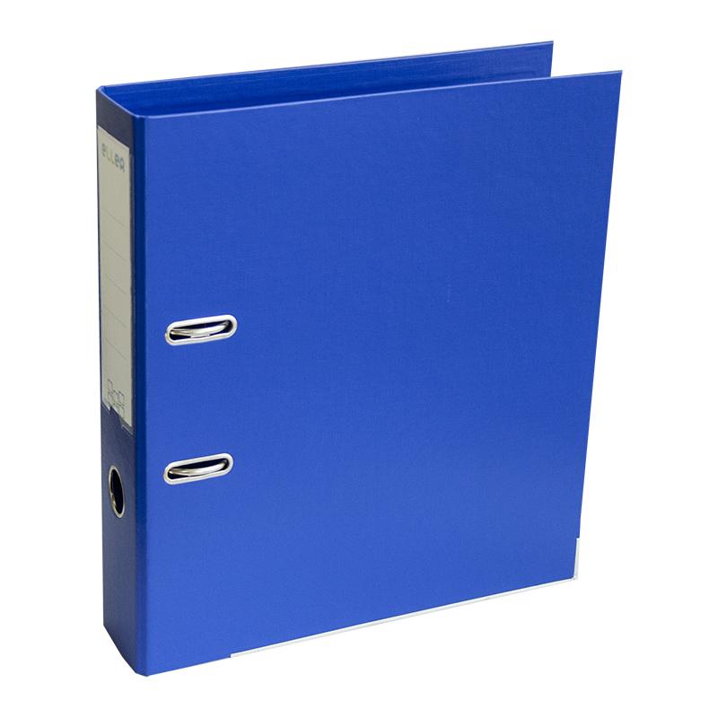 Mape-reģistrs ELLER A4 formāts, 75mm, zila, apakšē..