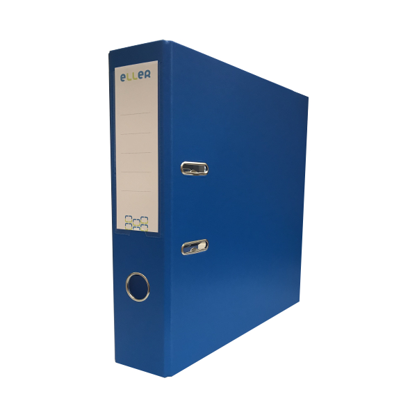 Mape-reģistrs ELLER A4 formāts, 75 mm, gaiši zila,..