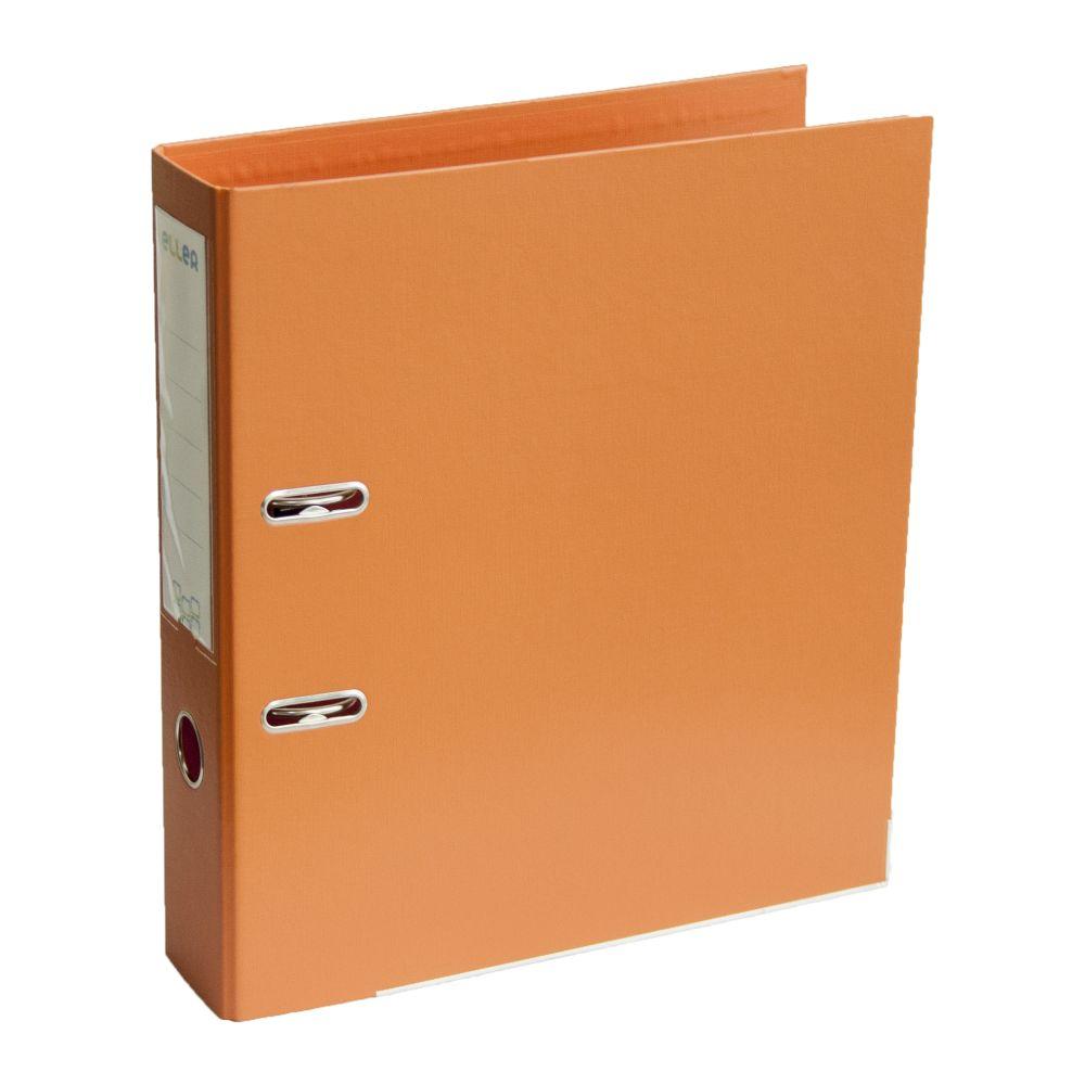 Mape-reģistrs ELLER A4 formāts, 75 mm, oranža, apakšējā mala ar metālu