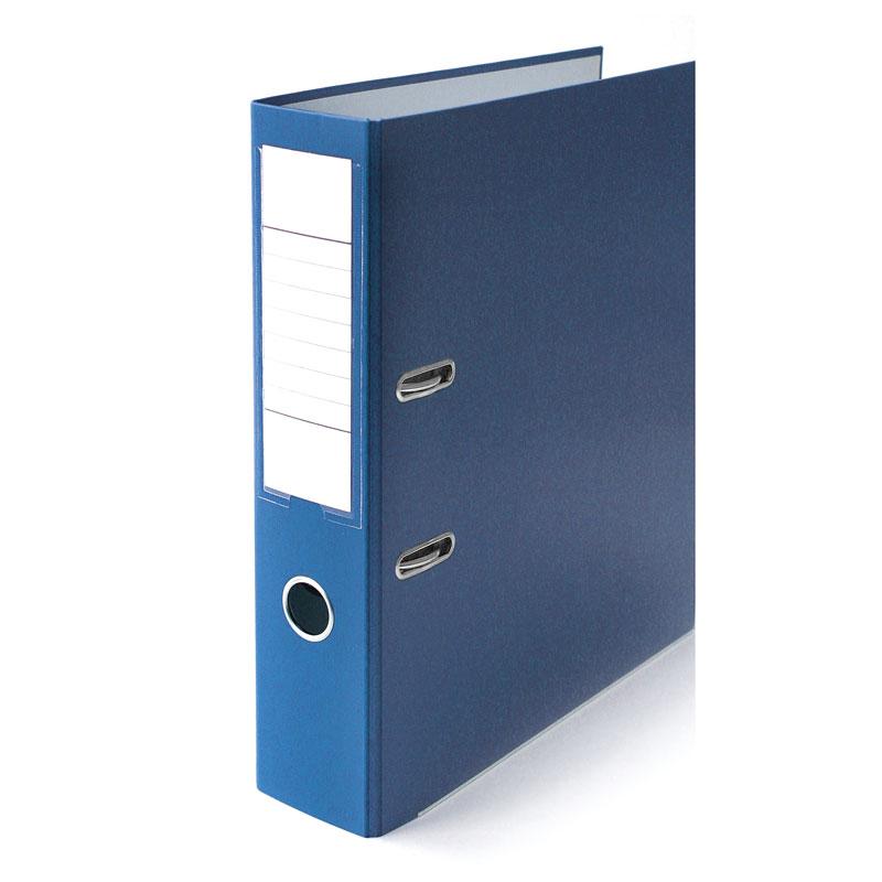 Mape-reģistrs ELLER Eko A4 formāts, 75 mm, zils, a..